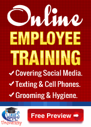 Online training teaching workplace skills: Free preview